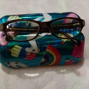 Lucky brand eye glasses